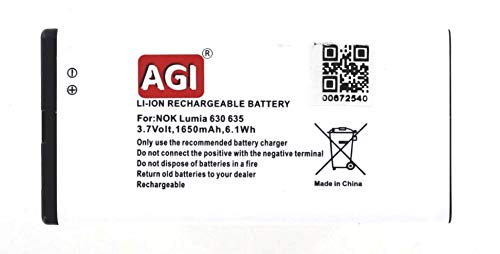 Akkuversum Akku kompatibel mit Nokia RM-976, Handy/Smartphone Li-Ion Batterie