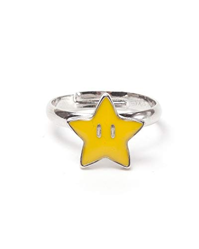 Nintendo Ring Super Star Super Mario Yellow-M