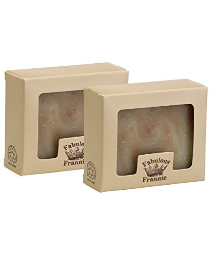 Fabulous Frannie Protect Essential Oil Herbal Soap Gift Set each made with Pure Essential Oils Clove, Cinnamon, Sweet Orange, Rosemary, Lemon and Eucalyptus 2pk - 4oz Bars