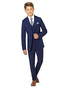 Paisley of London Anzug für Jungen, für Hochzeiten, blau - 5 Jahre