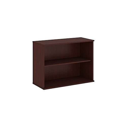 Bush Business Furniture 30H 2 Shelf Bookcase in Harvest Cherry
