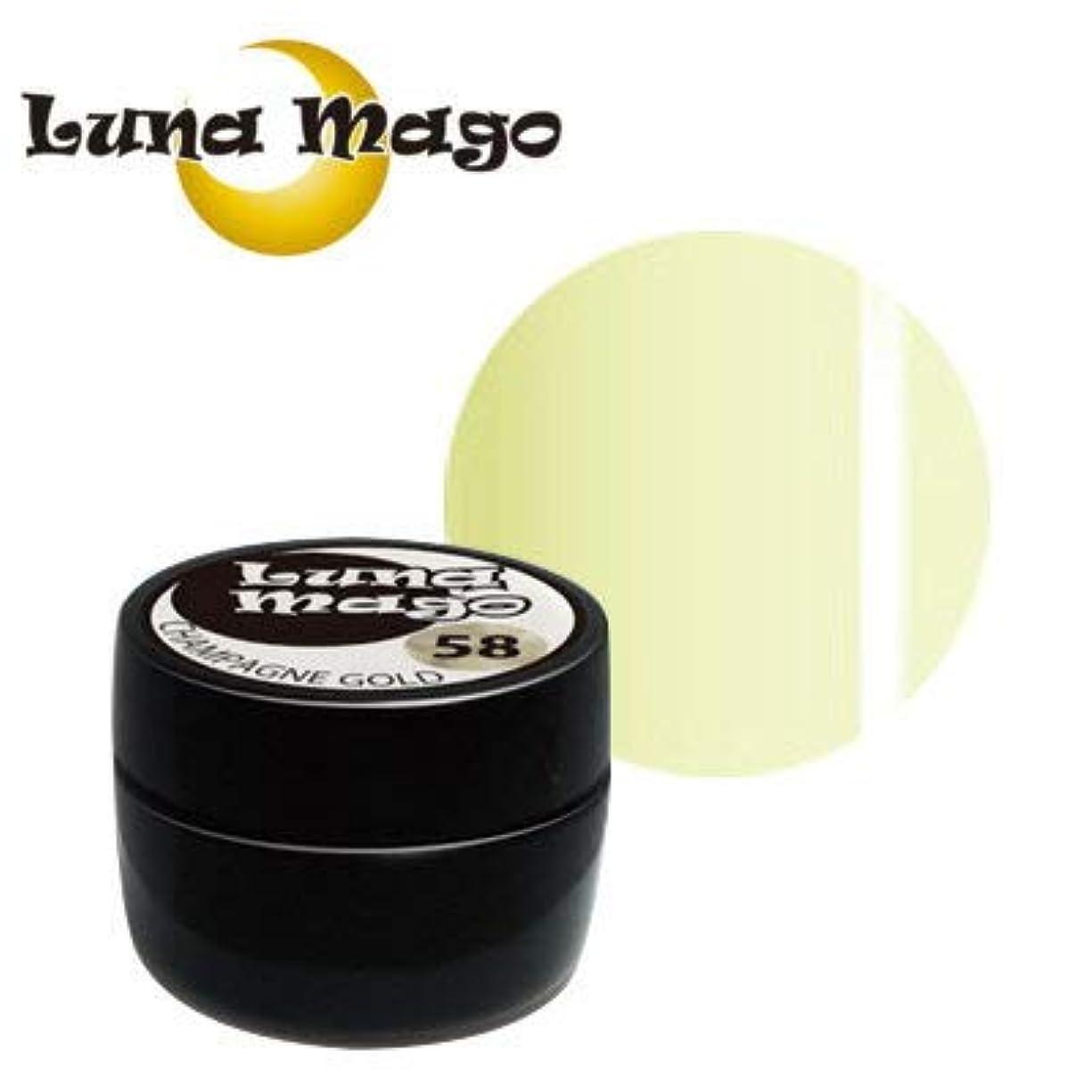 ばかげたましい叱るLuna Mago カラージェル 5g 004 クリーム