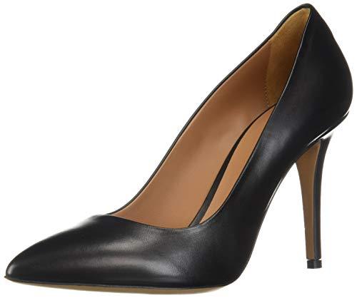 Emporio Armani Damen Classic Pointed Toe Pump klassisch, spitz zulaufender Zehenbereich, Pumps, schwarz, 36 EU