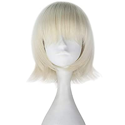 Miss U Hair Women Girls Synthetic Short Straight Hair Multi-color Cosplay Costume Wig