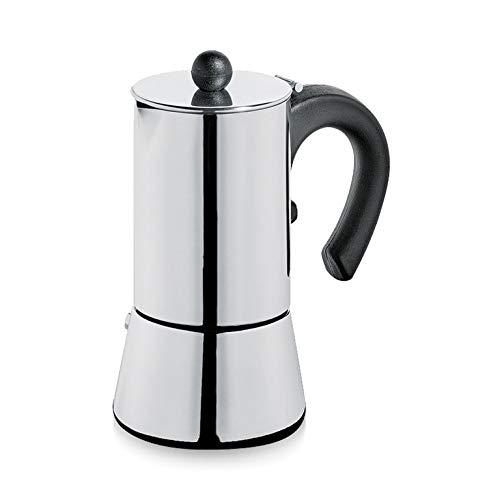 Cilio Espressokocher Vito, 4 Tassen, Edelstahl, Induktion geeignet