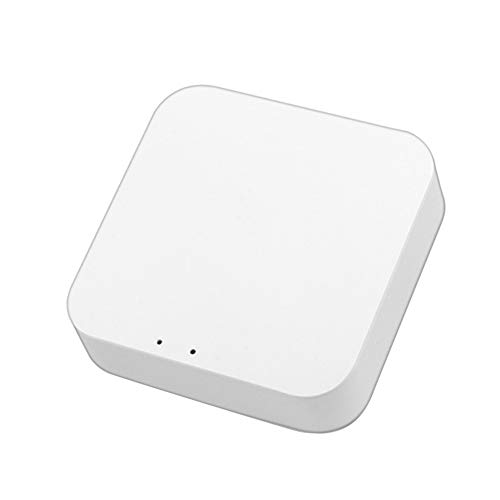 LDGG Tuya Zigbee 3.0 Hub Gateway, WiFi Smart Home Bridge Wireless Control remoto – Pequeño Smart Home Hub Zigbee Gateway compatible con Alexa/Google Home (1/3 paquetes)