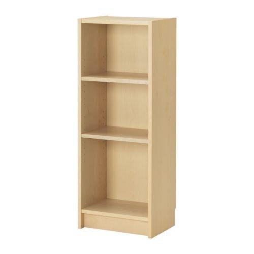 IKEA BILLY - Estantería para libros, chapa de abedul