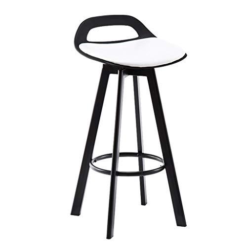 Tabouret de bar Tabouret De Bar En Fer Tabouret Haut Minimaliste Moderne Maison Cuisine Tabouret Chaise Noir Jambes (Taille De Siège: 60/72/83CM) (taille : Sitting height 83cm)