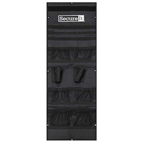 Secure It Gun Storage Agile Ultralight Model 52 Door Organizer - Stores Pistols, Gear, Ammo, and Gun Safe Accessories, Easy Assembly and Gun Storage