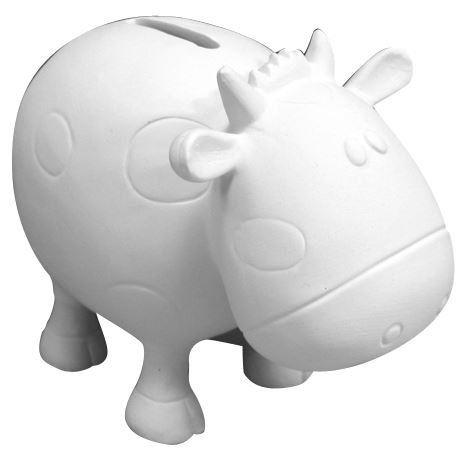Betsy The Cow Bank - Paint Your Own Moo-lah Ceramic Keepsake