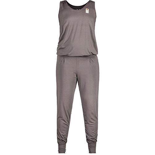 Maloja W Mondrautem. Overall Grau, Damen Hose, Größe XS - Farbe Stone