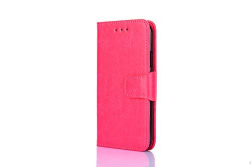 R642 Tasche für Sony Xperia Z6 Flip Hülle Cover Ledertasche für + TPU Silikon Fixierung Cover R642