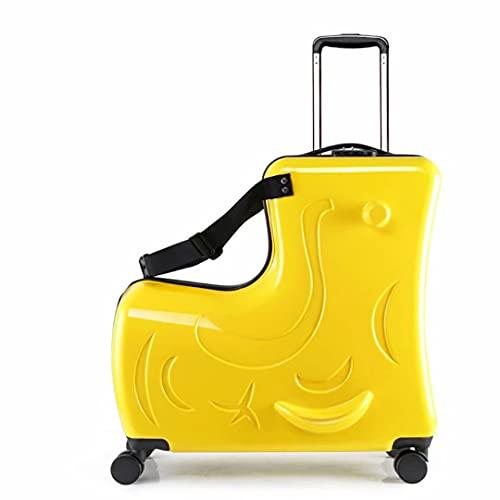 Valigia cavalcabile e bagaglio a mano per bambini, bagaglio a mano perfetto per bambini e bambine