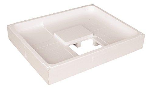 Calmwaters® - Modern Select - Rechteckiger Duschwannenträger aus Styropor für flache Acryl-Duschwannen in 100 x 90 cm - 03AX3366