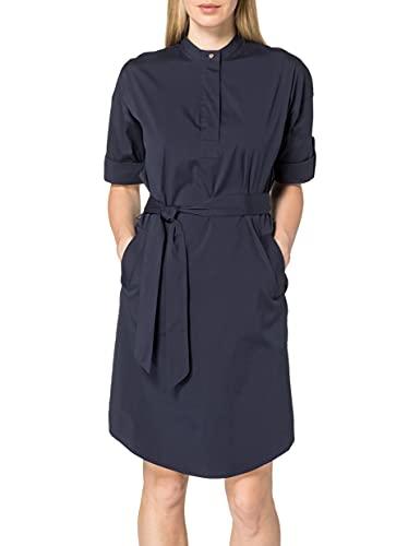 ESPRIT Collection Damen 031EO1E340 Kleid, 400/NAVY, 38