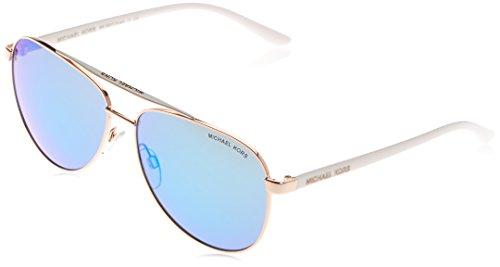 Michael Kors MK5007 104525 Rose Gold White Hvar Pilot Sunglasses Lens Category  59mm