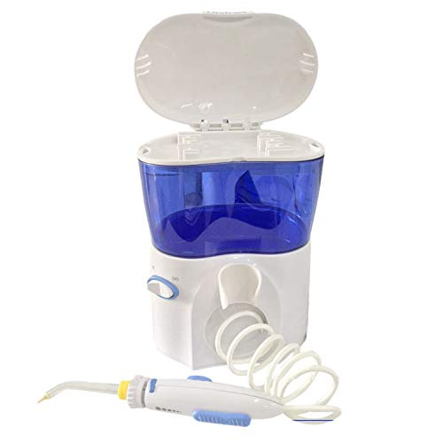 Gaetooely Wasser Zahnseide Munddusche Wasserstrahl Zahnseide Zahndusche Dental Pick Z?Hne Reinigung EU Plug Dunkelblau