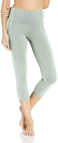Body Glove Active Women s Work IT Performance FIT Activewear Capri Pant Pale Pine X Small product image