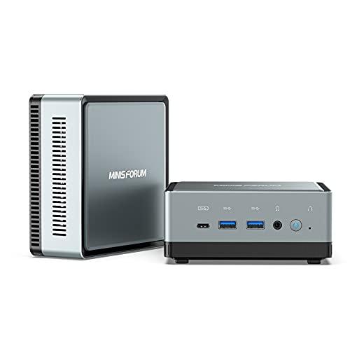Mini PC Intel Core i5-8279U | 16GB RAM 512GB PCIe SSD | Gráficos Intel Iris Plus 655 | Windows 10 Pro | Intel WIFI6 AX200 BT 5.1 | HDMI/DP/USB-C | 2X RJ45 | 4X USB 3.0 | Factor de Forma Pequeña