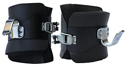 Lisaro Gravity Boots/Inversions Boots mit Sicherheitsverschluss | gepolstert | Schwerkrafttrainer
