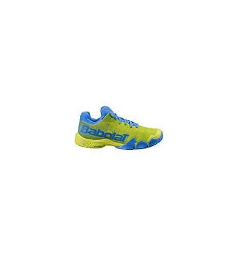 BABOLAT Jet PREMURA Men, Zapatillas de Tenis Hombre, Sulphur Spring/Blue, 43 EU