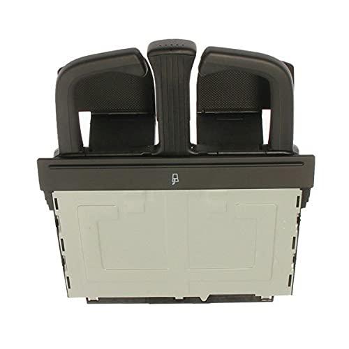 Nihlsen Portavasos de agua del automóvil titular delantero plegable estiramiento Dash Cup Holder portátil ajustable taza reemplazo directo