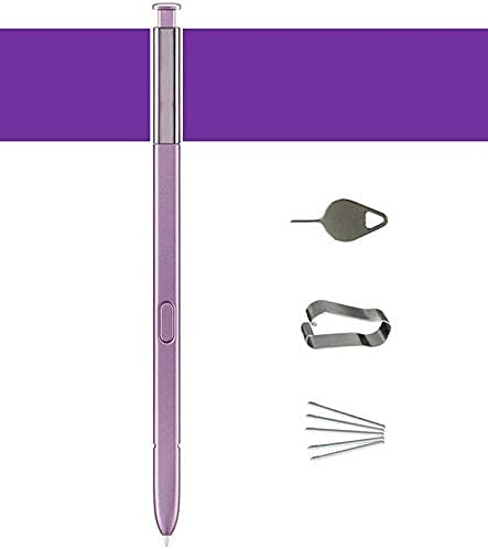 Galaxy Note 9 S Pen Replacement (Without Bluetooch) ,Stylus Touch S Pen for Galaxy Note9 with Replacement Tips/Nibs Eject Pin (Violet)