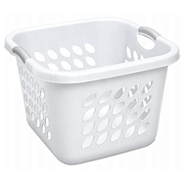 STERILITE 12178006 Laundry Basket, 19 , White