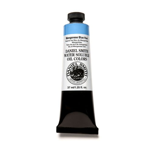 DANIEL SMITH Water Soluble Oil Color Paint, 37ml Tube, Manganese Blue Hue, 284390023