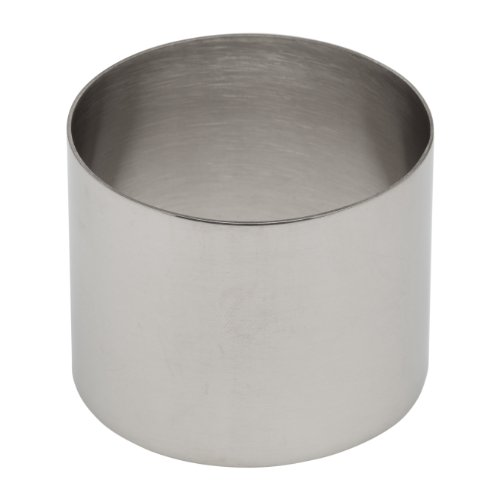 Ateco Stainless Steel Ring Mold, 2.75 by 2.1-Inches High, Compatible with 4950 Food Molding Set