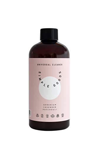 Simple Goods Universalreiniger - Geranium, Lavendel, Patschuli 500ml - ECOCERT - Zertifiziert