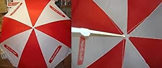 RED STRIPE LAGER BEER LOGO LARGE BEACH STYLE UMBRELLA NEW