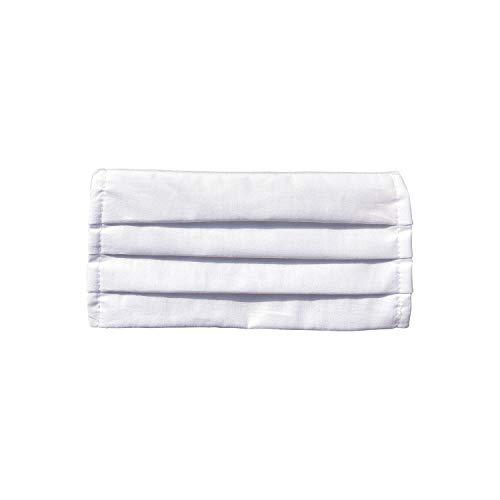 Mundschutz Maske, Kälteschutz Gesichtsmaske, Staubdichte Mäske, Anti-Beschlag Anti-Staub Maske für Radfahren, hergestellt in der EU (5, White)