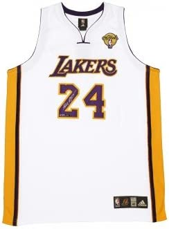 Kobe Bryant Autographed White Lakers Finals Jersey ~Limited to 124 ...