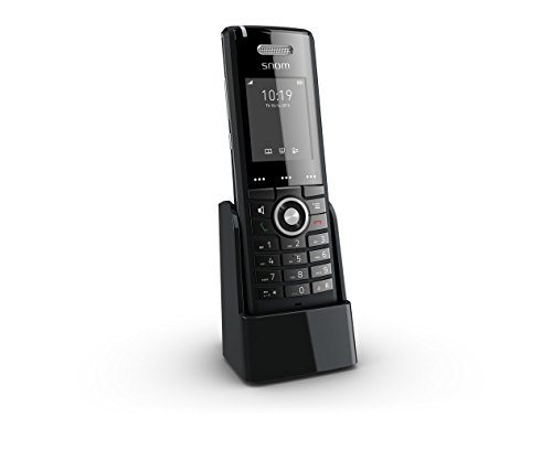 Snom Professional Handset M65 (250 Hours Standby, Two-line Display (2x16 characters), SW Upgrade Over-the-air) Black