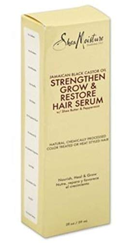 SheaMoisture Jamaican Black Castor Oil Strengthen, Grow & Restore Hair Serum, 2 Ounce by Shea Moisture