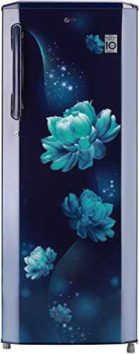 LG 270 L 3 Star Inverter Direct-Cool Single Door Refrigerator (GL-B281BBCX, Blue Charm)