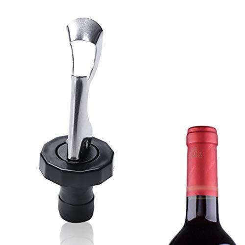 Regard Manual de Vino de Acero Inoxidable de Silicona tapón de la Botella de Cerveza del Vino de vacío presionar Plug Tapón de Botella