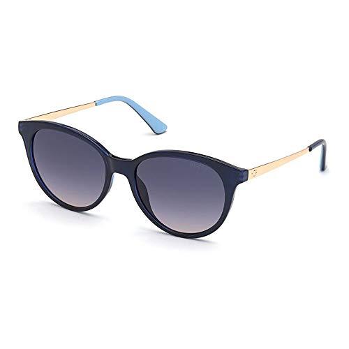 Guess Gafas de Sol GU7700 BLUE/BLUE SHADED 54/17/140 mujer