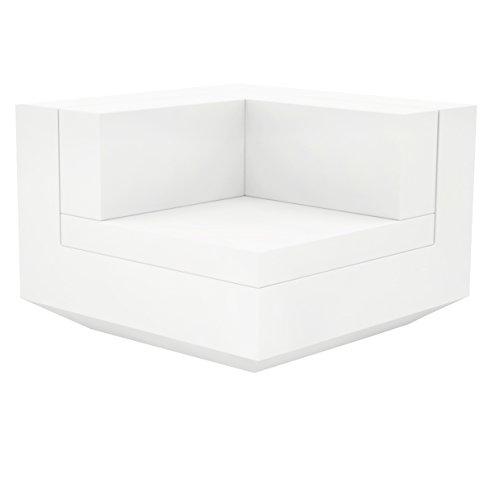 Vondom Vela Sofa Esquina 90 Blanc