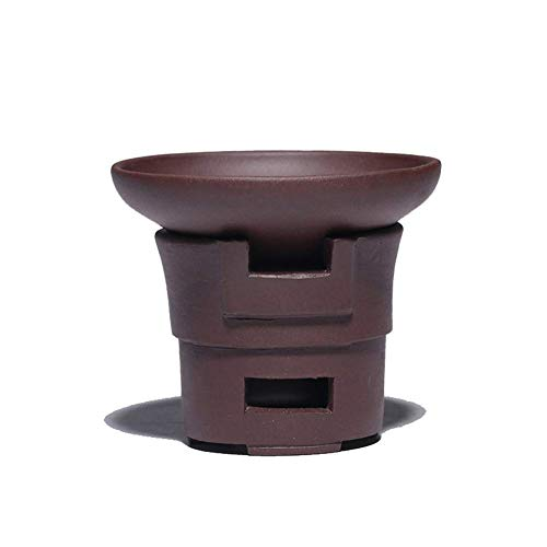 Tetera de hierro fundido, set de tetera púrpura mineral de arcilla yixing Té coladores de té Accesorios de té, coladores de té de acero inoxidable filtro decoración del hogar Presente