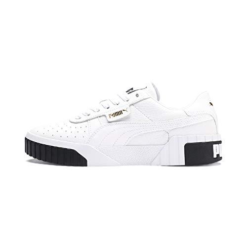 PUMA Cali Damen WN's Sneaker Sportschuhe Fitness Sneaker 37 Weiß 9060