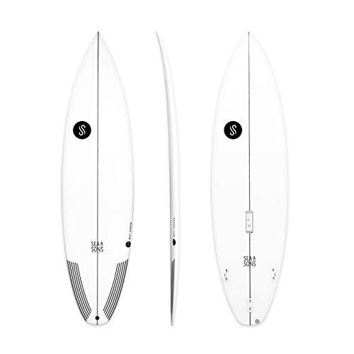 Tabla de surf shortboard 5'8 5'8'' x 18 1/2 x 2 3/16 Volumen: 23, 2 litros Comodidad, versatilidad y prestaciones al surfear Para surfista de nivel medio a alto y todo tipo de condiciones