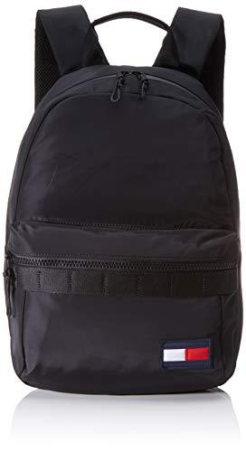 Tommy Hilfiger Herren Tommy Backpack Schultertasche, Schwarz (Black), 20x44x32 Centimeters