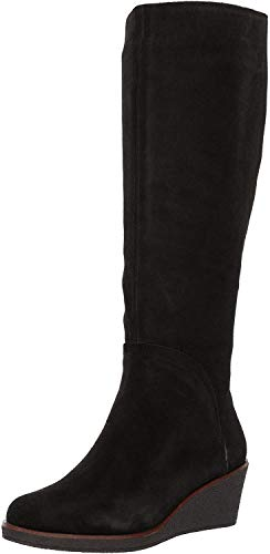 Aerosoles Women's Binocular Knee High Boot, black suede, 8.5 M US