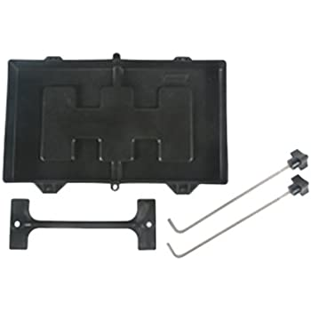 Seachoice USCG-Approved Premium Marine Hold-Down Battery Tray Black