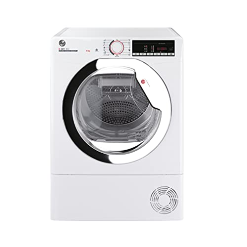 Hoover H-Dry 300 HLEC9TCE Freestanding Condenser Tumble Dryer, Easy Empty, WiFi Connected, 9 kg Load, White