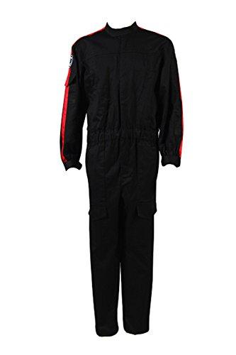 Kostor Imperial Tie Fighter Pilot Black Flightsuit Uniform Jumpsuit B Kostüm für Erwachsene XL