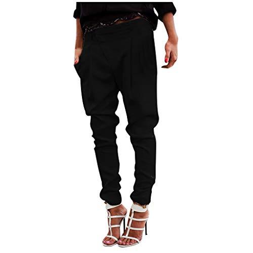 Pantaloni Larghi dei delle Gambe Modo Cotone Larghe La Primavera E LAutunno Sono Adatti per Casual Momoxi Pantaloni Donna