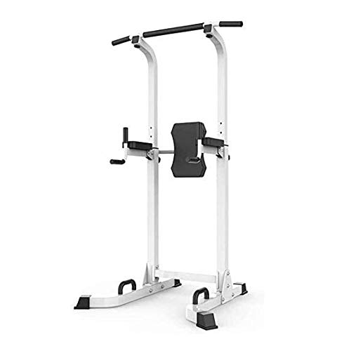 Estación Dip entrenamiento Power Tower de gimnasio en casa, for trabajo pesado Fuerza ajustable Entrenamiento Fitness Equipment multi-función estable Entrenamiento del ejercicio estación de fitness -